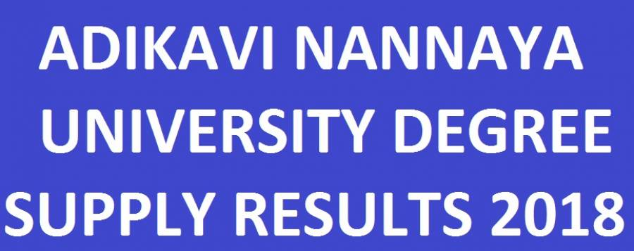 AKNU Degree 1st/2nd/3rd Year Supply Results