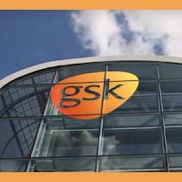UK blue chip stock : LSE:GSK GlaxoSmithKline stock price chart