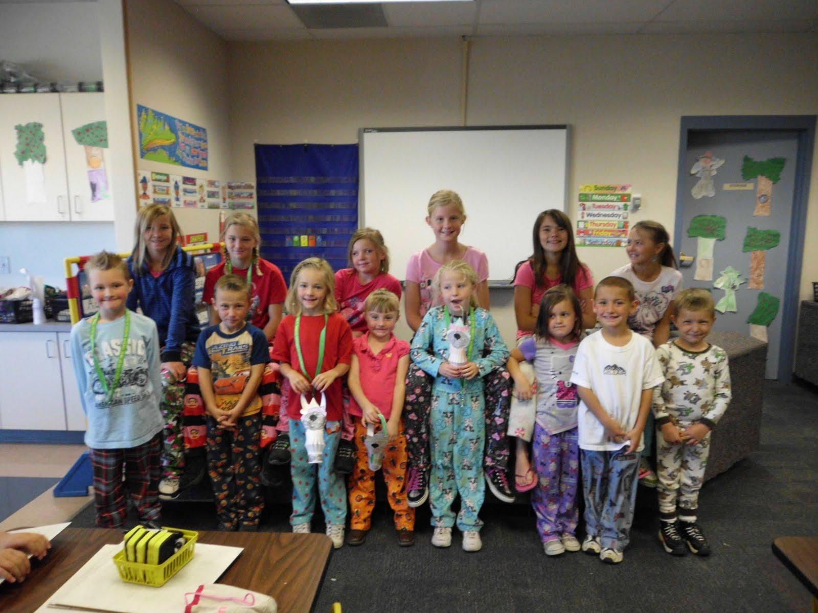 1 Kindergarten Pajama Party