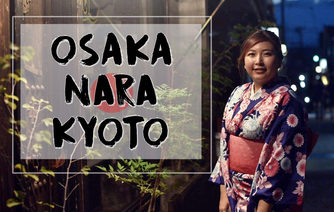 Follow Me To Osaka, Nara & Kyoto | Video