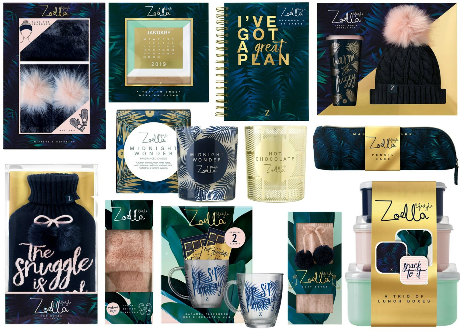 Zoella Christmas 2019 HaySparkle: Zoella Lifestyle Christmas Collection Revealed!