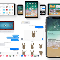 iOS 11 Update iPhone 8 with iMessage Bubble