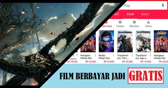 Cara Nonton Film Berbayar Di Play Store Secara Gratis Yannech Com