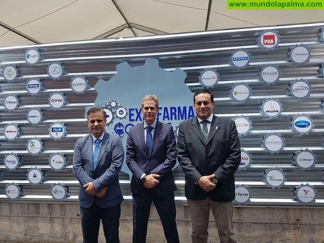El Cabildo valora la cercanía y el compromiso de las farmacias con la salud en la inauguración de Expofarma