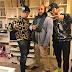 > Fran, Cayetano y Kiko, tres hermanos Rivera muy raperos