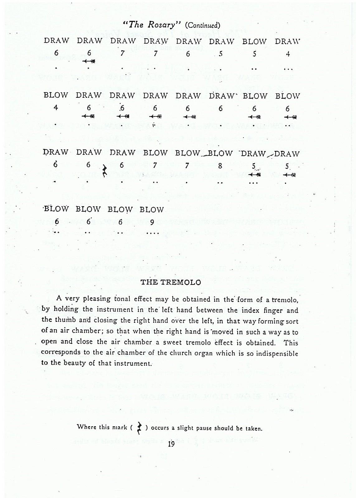how to play chromatic harmonica pdf