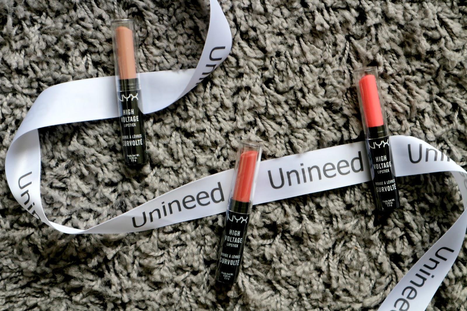 nyx high voltage lipsticks review