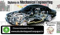Diploma Robotics Board Exam Question Paper April 2018 Download Here