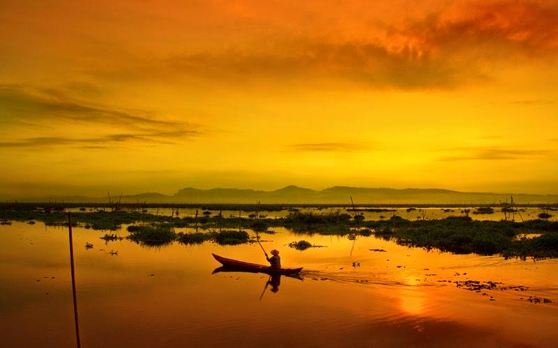 Hunting Sunrise Dan Sunset Eksotis Di Rawa Pening
