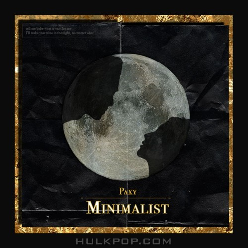 Paxy – Minimalist – EP