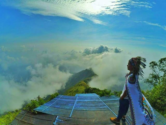 puncak gunung telomoyo