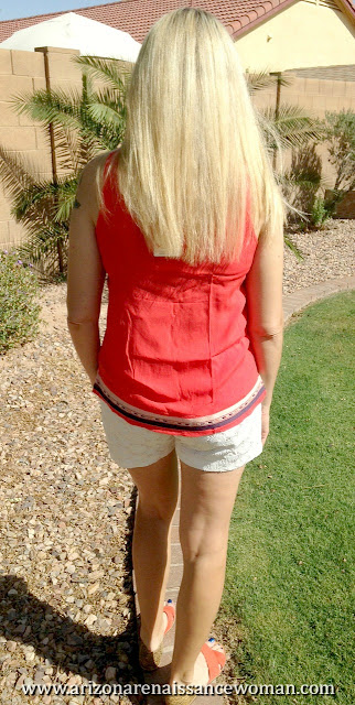 THML Ami Embroidered Top and Eden Society Chelsie Crochet Short (2) - Stitch Fix April 2016