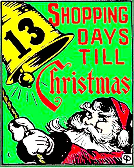 194613 shopping days till christmas