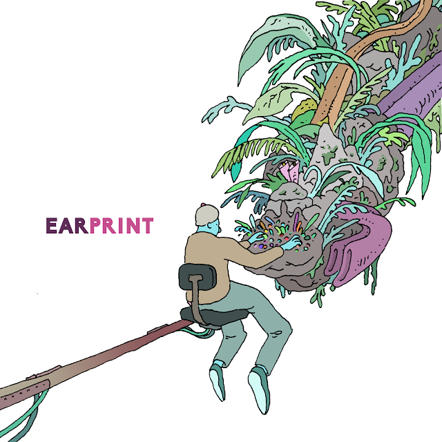 Earprint Jazz Quartet Chordless Album Cover Endectomorph Music