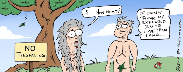Adam and Eve in Menopause