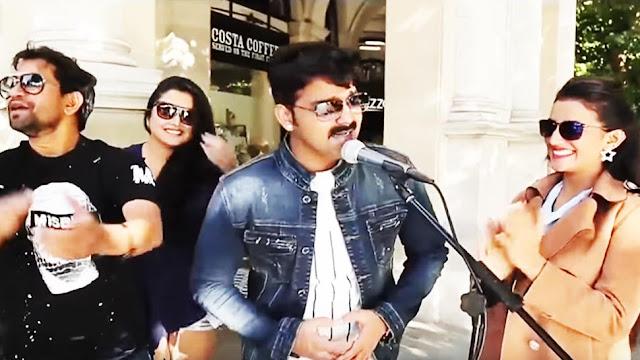 Bhojpuri Film: When Pawan Singh sang 'Lollypop Lagelu' on London street- Watch old video