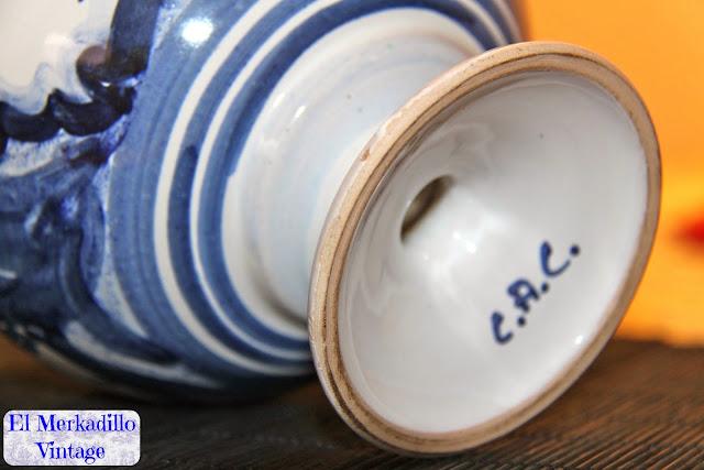Tarro antiguo de Farmacia - Espigol / Lavanda - Albarelo de Farmacia