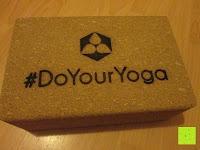 Erfahrungsbericht: Yoga-Korkblock »Kinnari« / Yogaklotz aus 100% Natur-Kork, ideal zur Unterstützung spezieller Yoga-Übungen / Maße: 23 x 15 x 7,5cm