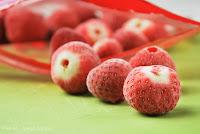 Congelar fresas y frambuesas