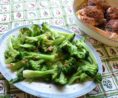 Broccoli with Chile & Garlic