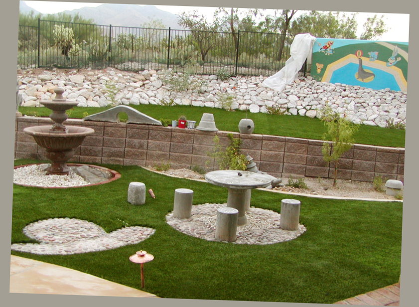 Amazing patio ideas for backyard and small yards ellecrafts for Backyard design ideas arizona