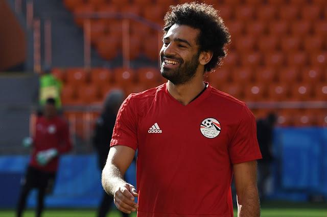 محمد صلاح أفضل لاعب عن عام 2018.