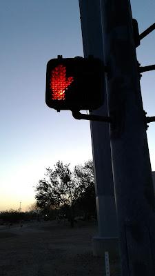 working crosswalk signal