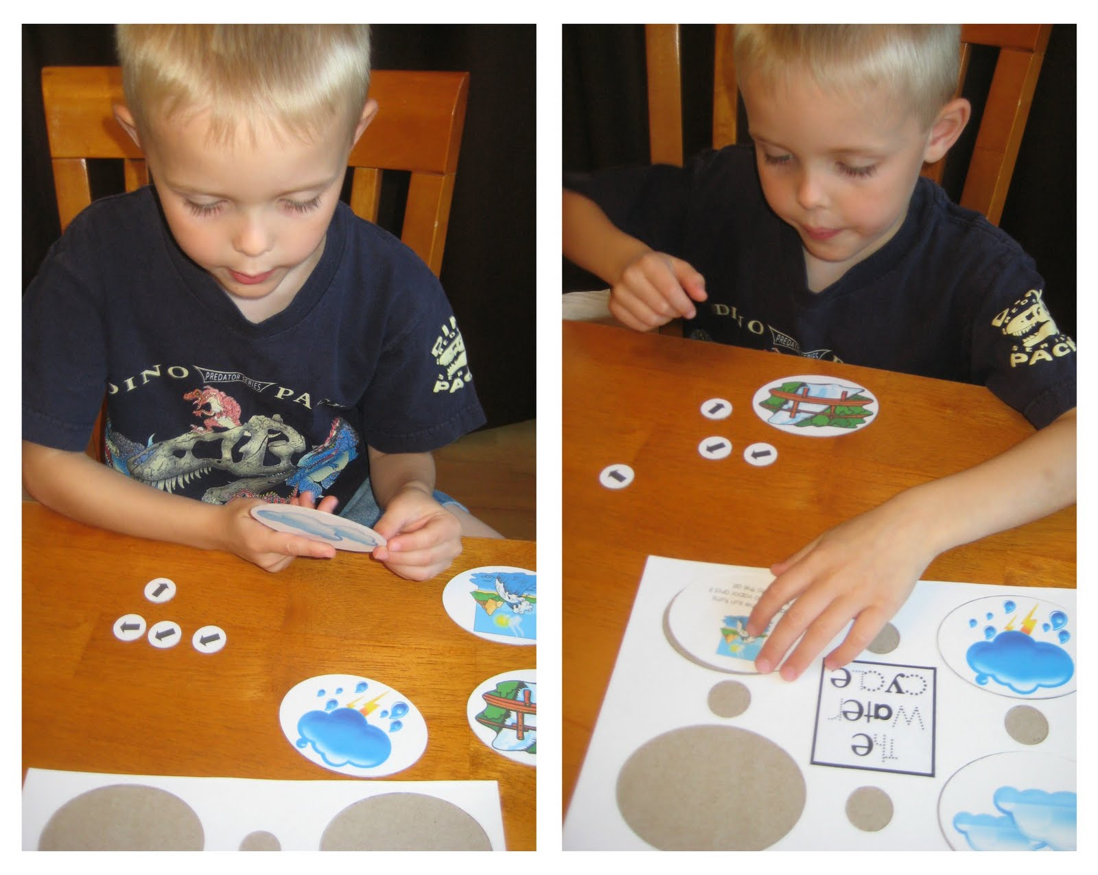 Relentlessly Fun Deceptively Educational Water Cycle Puzzle