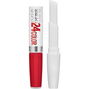 Thỏi son lì màu đỏ cherry Maybelline Super Stay 24 Color xách tay Mỹ