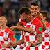 Half-Time score Nigeria 0 – 1 Croatia #WorldCupRussia