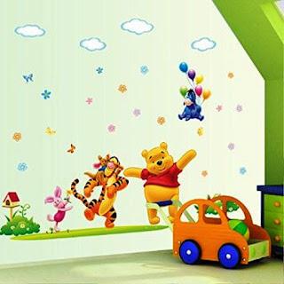 Gambar Wallpaper Dinding Winnie the Pooh Terbaru dan Lucu 200165
