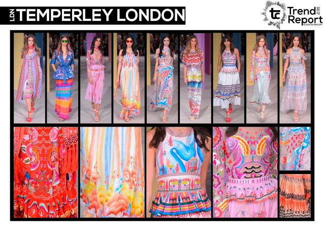 Textile Candy, fashion blog, runway collections, catwalk collections, Spring/Summer 2017, SS17, runway favourites, Temperley, London fashion week