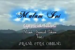 Download Lagu Toraja - Malam ini