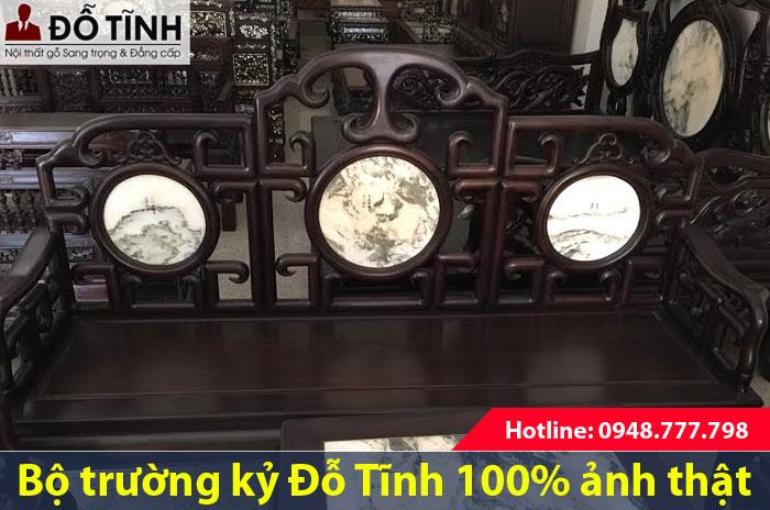 Bộ trường kỷ cổ Hải Minh tại Đỗ Tĩnh đẹp thật không?