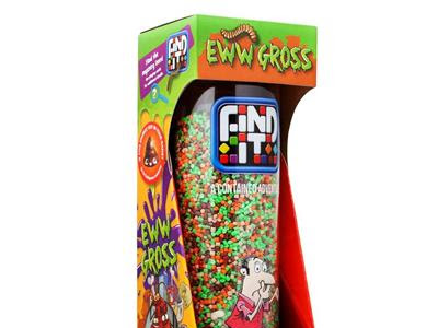 EWWWWW! GROSS!!! Help promote concentration with GROSS items in the new Find It Game #Review