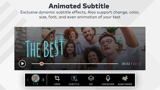 Animated Subtitle