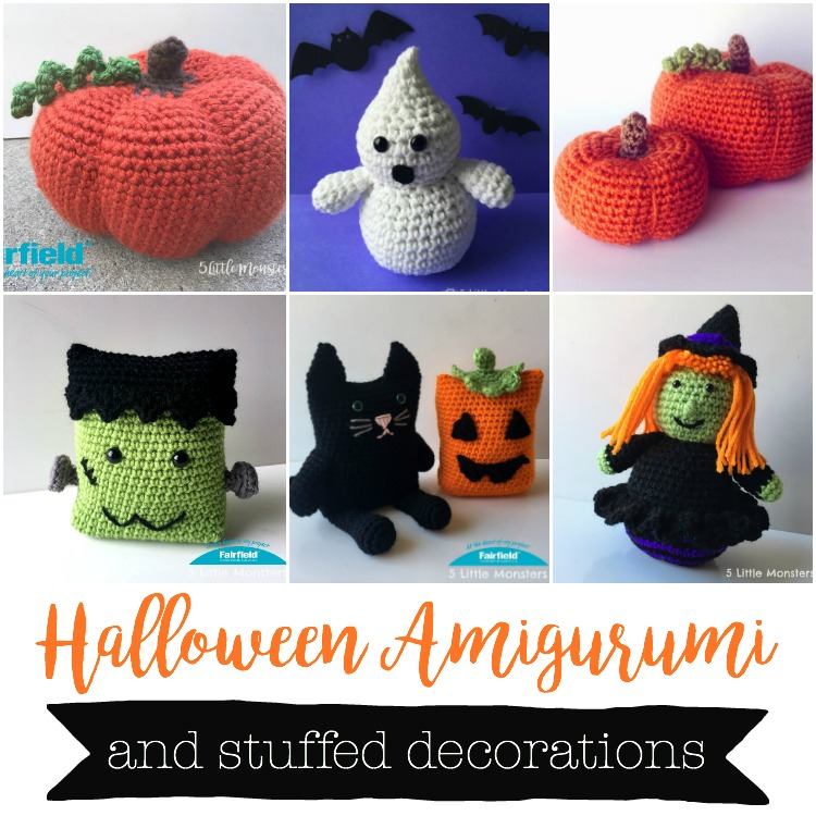 5 Little Monsters 16 Halloween Crochet Projects Costumes Decor