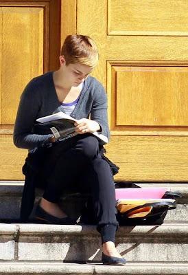 Emma Watson Emma Watson Reading