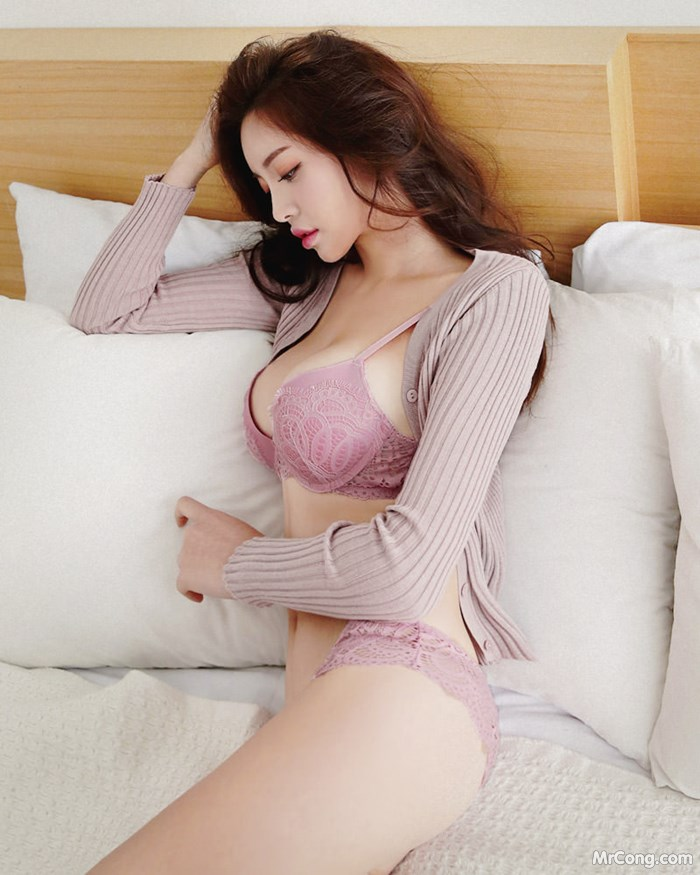 Image Korean-Model-Jin-Hee-012018-MrCong.com-002 in post Người đẹp Jin Hee trong bộ ảnh nội y, bikini tháng 01/2018 (355 ảnh)