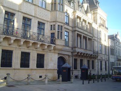 Palace Luxembourg Royal Grand Duke Henri