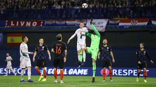 Hasil UEFA Nations League: Gol Injury Time Menangkan Kroasia atas Spanyol