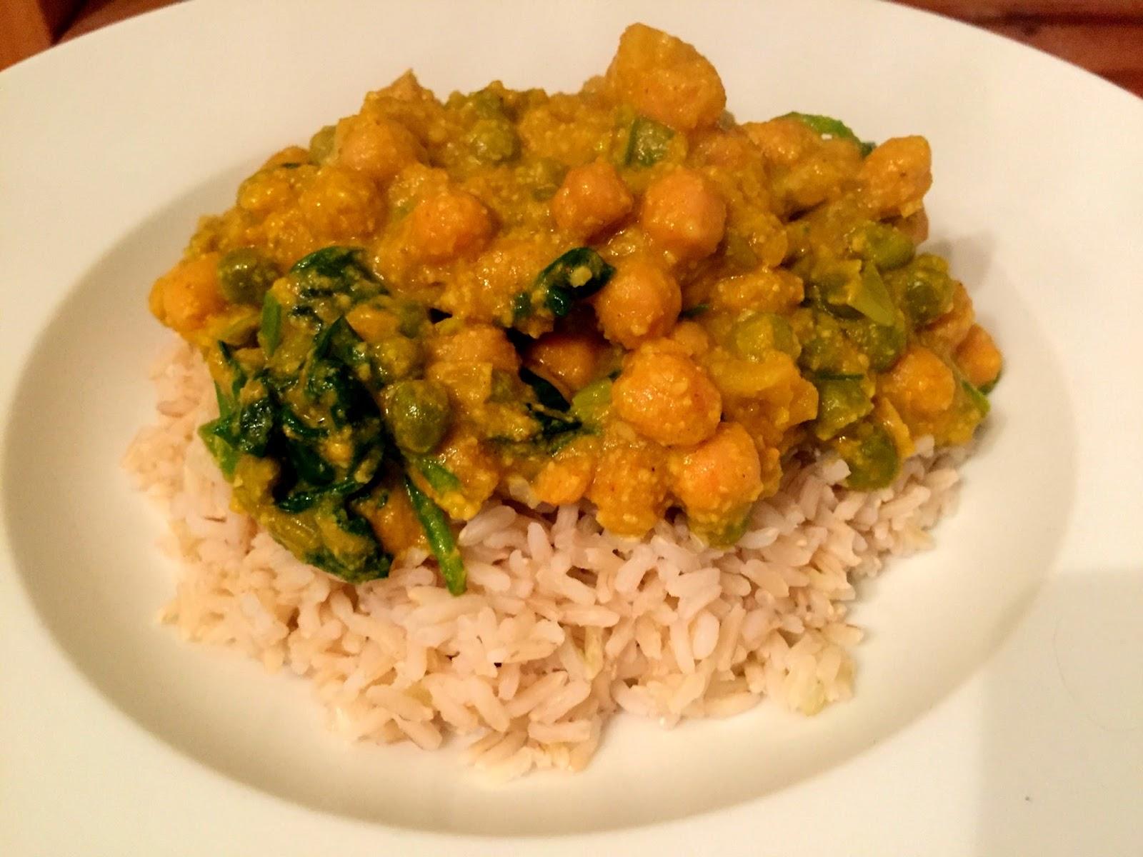 Naturally Sassy Sweet Potato & Chickpea Vegan Curry