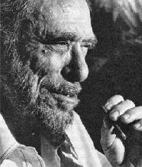 Foto del escritor americano Charles Bukowski