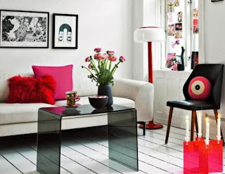Living Room Sofa for Small Space with Coffe Table