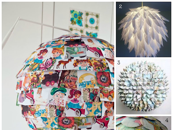 Get Your Inspiration: DIY Lampade di carta/ DIY Rice Lamps