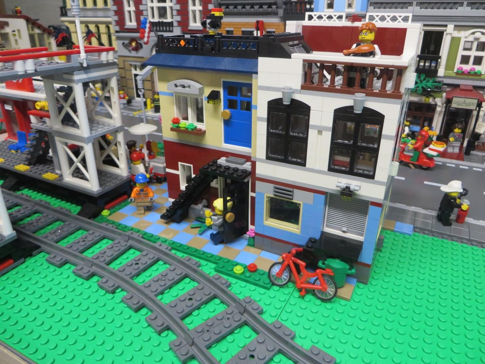 Thoughts On Blocks: Lego City Layout: Street Life