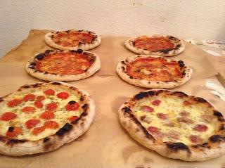 pizze napoletane forno di casa