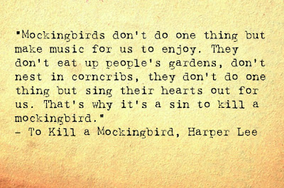 Doing the right thing in to kill a mockingbird by harper lee