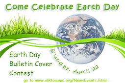 Earth Day Bulletin Cover Contest