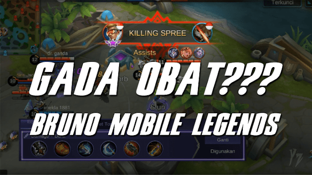 Tips dan Build Item Terbaik Bruno Marskman Mobile Legends